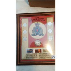 1973 - THE YEAR CANADA SALUTED THE RCMP COIN COLLECTION