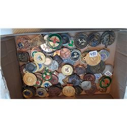 LARGE LOT OF MEDALS FROM 1980'S & 90'S