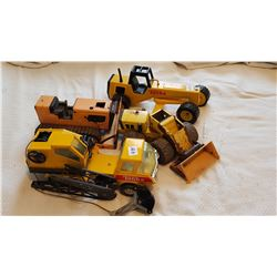 LOT OF TONKA TOYS (AS IS)