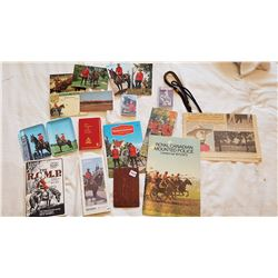 LARGE LOT OF RCMP ITEMS