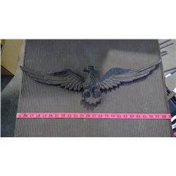 "CAST IRON TYPE EAGLE - 24"" WING SPAN"