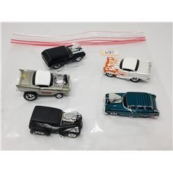LOT OF FIVE 1:64 VEHICLES