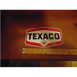 TEXACO DECAL 8 INCHES LONG