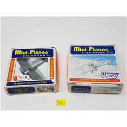 TWO DIE CAST AIRPLANES (1:87 SCALE)
