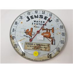 JENSEN, CALGARY OLD THERMOMETER