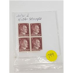 WWII GERMAN STAMPS