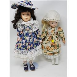TWO DOLLS