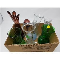 LOT OF ASSORTED VASES