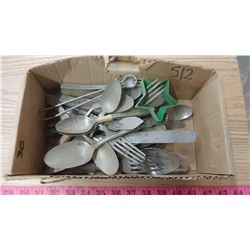 VINTAGE SILVER PLATED CUTLERY