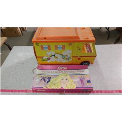 BARBIE COUNTRY CAMPER AND BARBIE GAME
