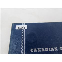 CANADIAN DIME BLUE BOOK 1937-DATE