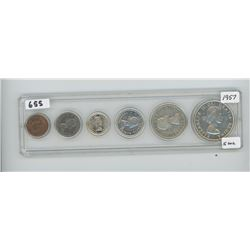 1957 - CANADIAN COIN SET