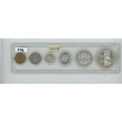 1958 - CANADIAN COIN SET