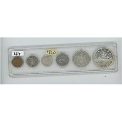 1960 - CANADIAN COIN SET