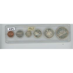 1963 - CANADIAN COIN SET