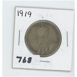1919 CANADIAN 50 CENTS