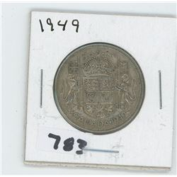 1949 CANADIAN 50 CENTS