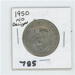 1950 ND CANADIAN 50 CENTS
