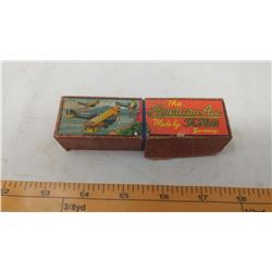 HARMONICA IN ORGINAL BOX - THE AMERICAN ACE MAD BY FR. HOTZ GERMANY