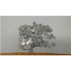LOT OF 150 SILVER DIMES (1967 AND OLDER)