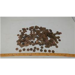 LOT OF 1930'S -1950'S PENNIES