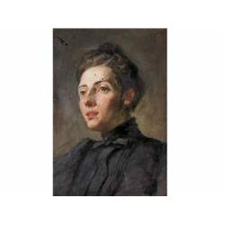 Márk, Lajos      Retteg, 1867 - New York, 1940     Portrait of a Woman
