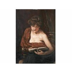 Greguss, Imre      Reading Woman