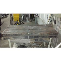 "Slotted Work Table 24"" x 52"""