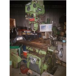 Lagun Milling FU-TV.1250  with Acu-Rite Digital Read out