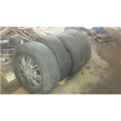 Buick Mag and Tire P215 70R15 All Season (used 1 month)