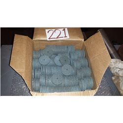 "Box of Grinding Disc 2"" x 1/4"" x 1/4"""