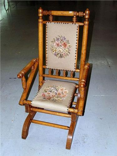 Victorian Platform Rocking Chair