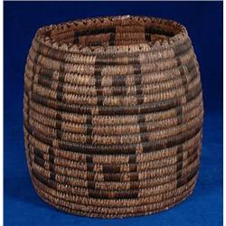 "Papago Gathering Basket 9"" D. 9"" H. Goo"