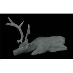 Kigiuna Inuit Caribou Sculpture - Coppe