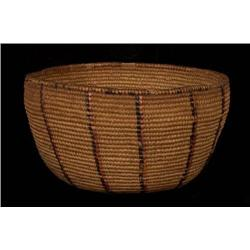 Thompson River Coiled Basket with Rare