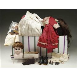 LARGE LOT OF DOLL & CHILD'S CLOTHES