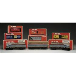 """8-PC. LIONEL """"O"""" GAUGE CANADIAN PACIFIC FREIGHT S"""