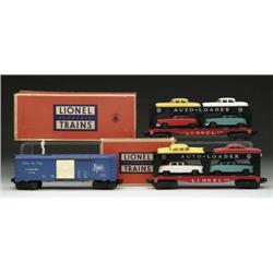 LOT OF 3 LIONEL CARS