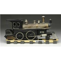 BEGGS STEAM ENGINE AND TENDER