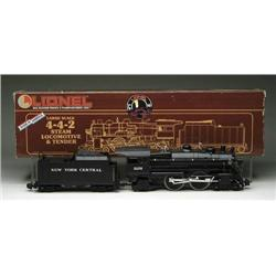 LIONEL LARGE SCALE 4-4-2 NY CENTRAL #85102 STEAM