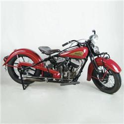 1935 INDIAN CHIEF ONCE BELONGING TO STEVE MCQUEEN