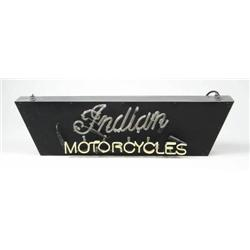 INDIAN MOTORCYCLES CONTEMPORARY NEON SIGN