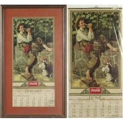 LOT OF TWO 1932 CALENDARS
