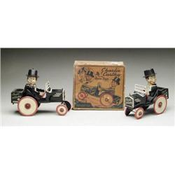 2 CHARLIE MCCARTHY CRAZY CARS WITH 1 O/B