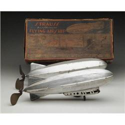 LOT OF TWO STRAUSS ZEPPELINS, ONE W/ OB