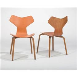 Arne Jacobsen Grand Prix Chairs 2