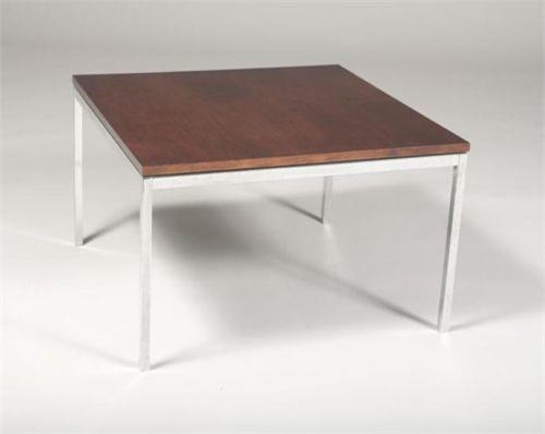 Florence Knoll Rosewood Square End Table. Loading Zoom