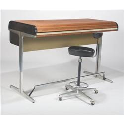 Herman Miller-Action Office roll top desk