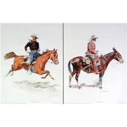 8 Lithographs - Frederic Remington
