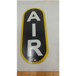 SERVICE STATION AIR PORCELAIN SIGN